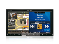 ALPINE INE-W977BT автомагнитола 2 din, DVD, MP3, USB, BT,  iPod/ iPhone, навигация GPS