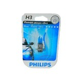 Лампа Philips  H3 12V- 55W (PK22s) Blue Vision Ultra
