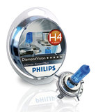 Лампы Philips  H4 12V- 60/55W (P43t) Diamond Vision