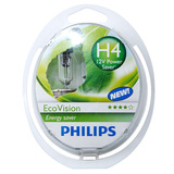 Лампы Philips  H4 12V- 60/55W (P43t) LongLife EcoVision