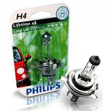 Лампа Philips  H4 12V- 60/55W (P43t) LongLife EcoVision