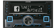 ALPINE CDE-W296BT автомагнитола 2 din, CD, BT, USB, MP 3, iPod/iPhone /