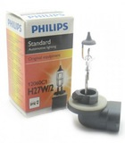 Лампа Philips  H27W/2 12V-27W (PGJ13)