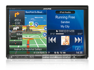 ALPINE INE-W928R автомагнитола 2 din, DVD, MP3, USB, BT, iPOD