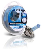 Автолампа Philips H4 12V- 60/55W (P43t) Blue Vision Ultra